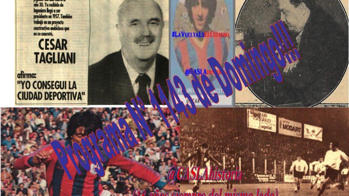 Programa N° 1143 de Domingo!! «Tucumano» Quinteros, Tagliani, Tedini y Victoria en La Plata»