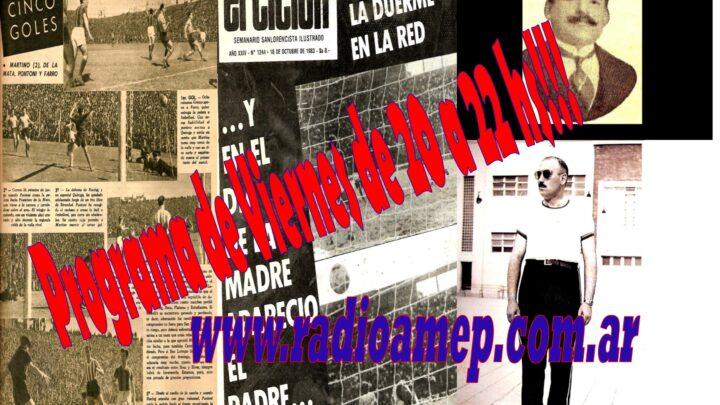 Programa en Vivo por www.radioamep.com.ar de 20 a 22 hs!!!!!